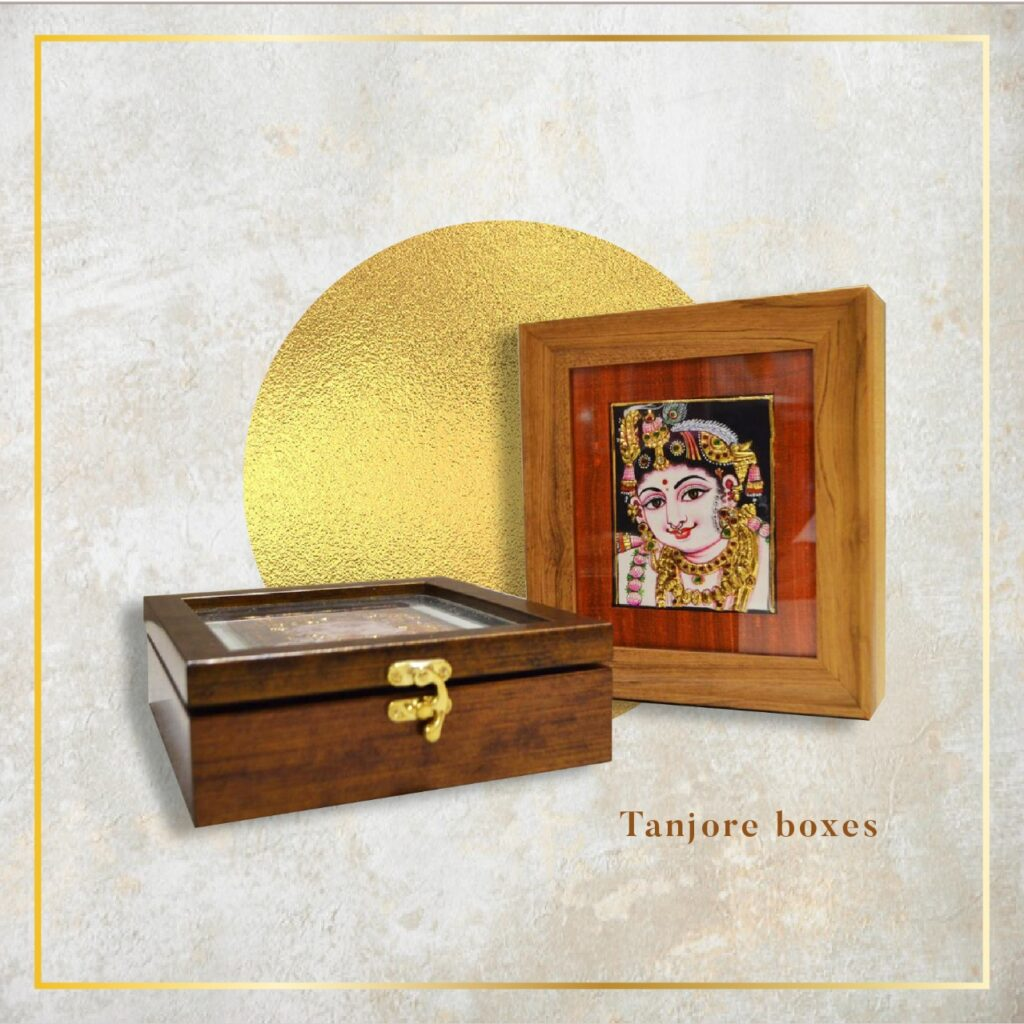 tanjore boxes