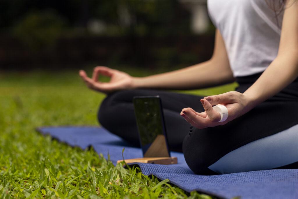Smart Dhyana meditation device