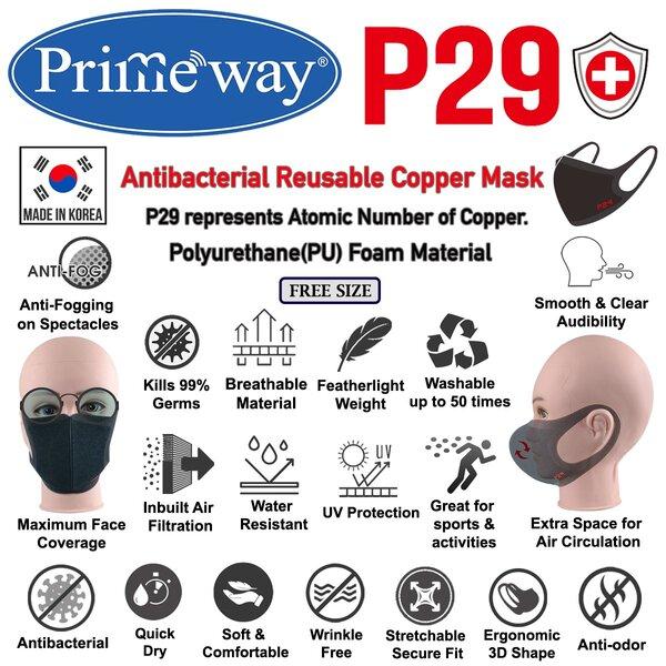 primeway P29 Copper Mask 5
