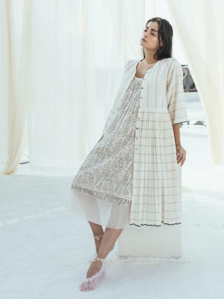 Itr by Khyati Pande Handwoven Stripe Dress3 a5edfb4e a696 4ea4 92ef 800847a9f619 1024x1024@2x scaled